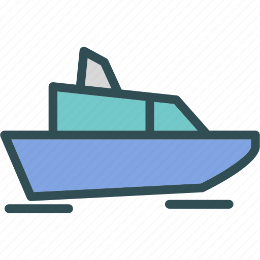 boat, luxury, travel, yacht icon