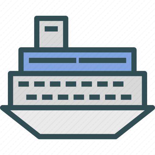 huge, ship, titanic, trasnsport icon