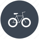 bicycle, bicycles, bike, bikes, transport, transportation, transports, travel icon