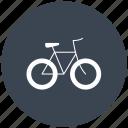 bicycle, bicycles, bike, bikes, transport, transportation, transports, travel icon