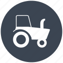 agriculture, machine, tool, tools, tractor, transport, transportation, transports icon