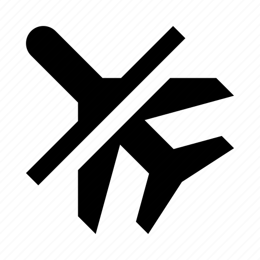 airplane, cancel, departure icon