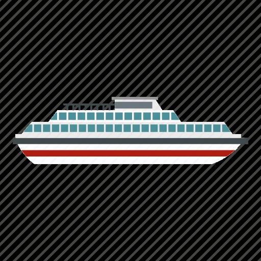 boat, maritime, ocean, sea, ship, steamship, vessel icon