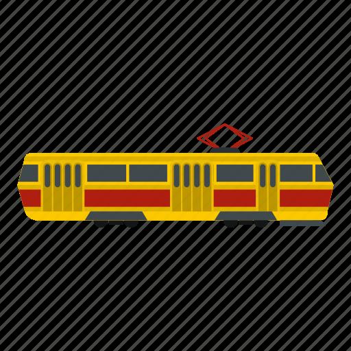 modern, rail, tram, transport, transportation, travel, vehicle icon