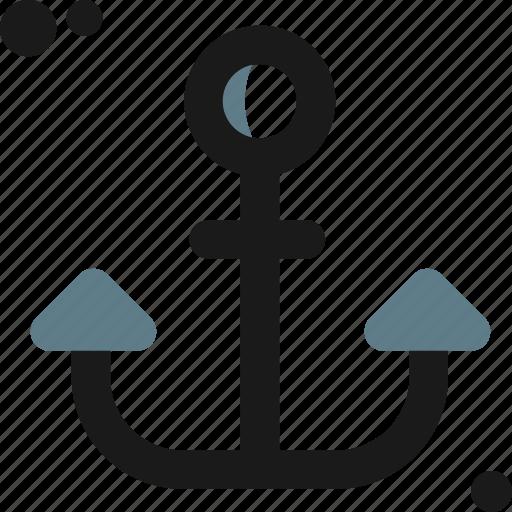 anchor, bay, boat, ferry, marina, ship, transport icon