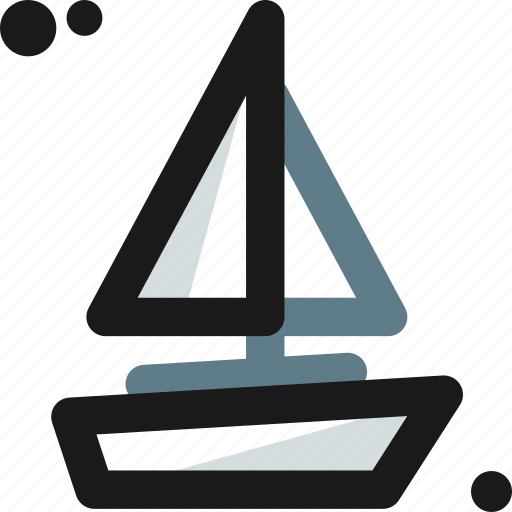 boat, ferry, sailboat, ship, transport, vessel icon