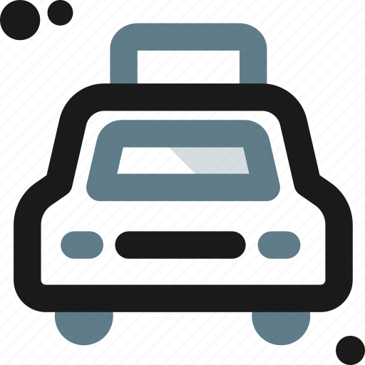 bus, cab, public, taxi, taxicab, transportation, vehicle icon