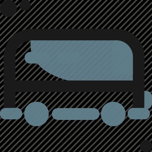 camion, car, caravan, van, wagon icon