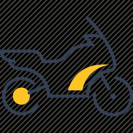 bike, speed, sport, transport icon