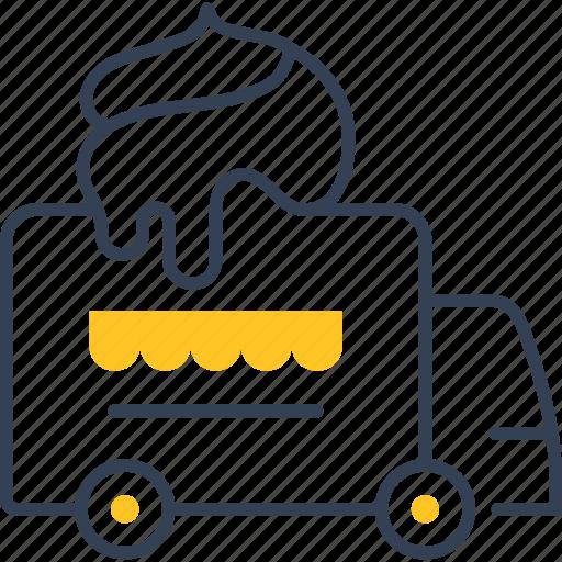 Car, cream, ice, transport icon - Download on Iconfinder
