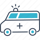 car, medicine, transport icon