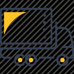 car, goods, transport, truck icon
