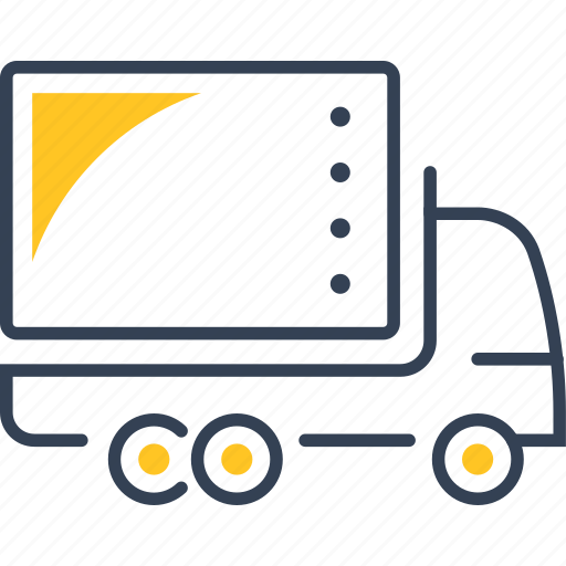 car, goods, transport, truck icon