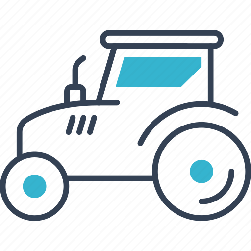 car, tractor, transport, truck icon