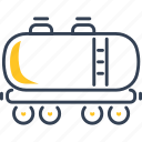 train, transport, wagon icon