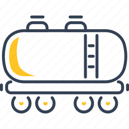train, transport, wagon icon