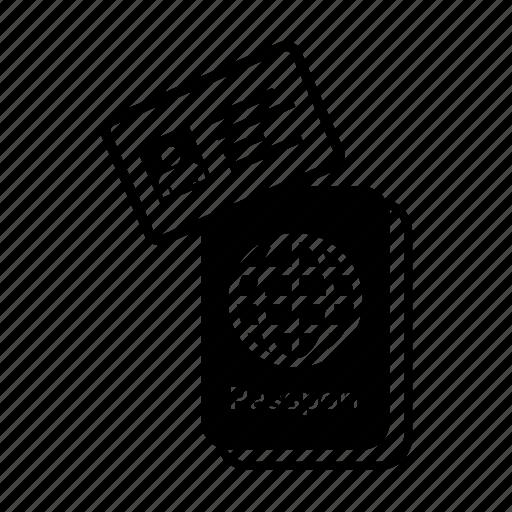 Airport, card, id, identification, identity, passport, travel icon - Download on Iconfinder