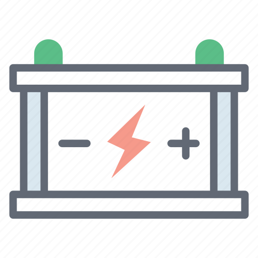 battery, car battery, electricity storage, electronic device, rechargeable battery icon