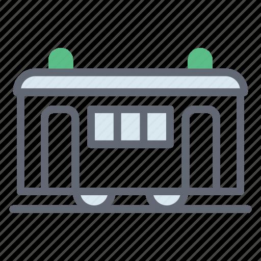 train, train tram, tram, tramcar, tramway, trolley bus icon