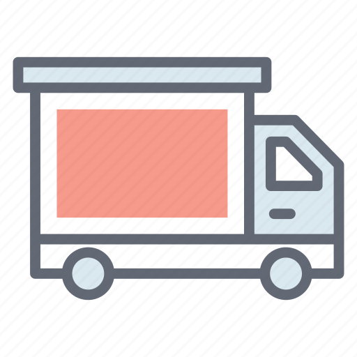 cargo truck, delivery cargo, delivery services, delivery truck, delivery vehicle, logistics, lorry icon