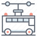 autobus, charabanc, coach, local transport, public transport, school bus, vehicle icon