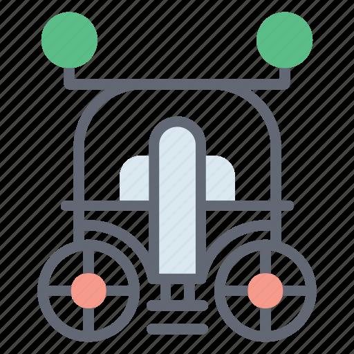 buggy, carriage, tonga carriage, transport, vintage delivery, vintage transport, wedding carriage icon