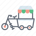 buggy, cycle carriage, cycle cart, transport, vintage delivery, vintage transport icon