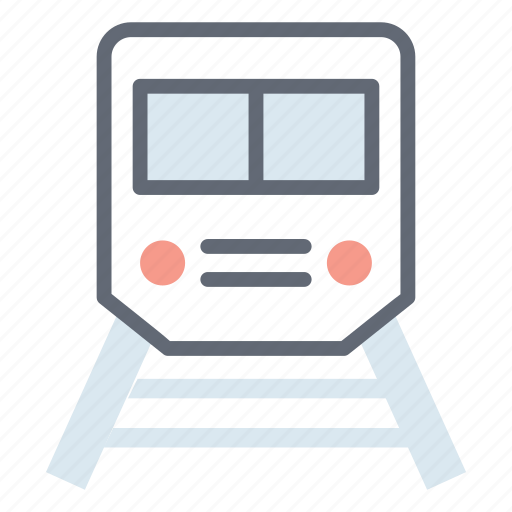 local transport, railway road, railway track, rapid transit, subway, train, transport icon