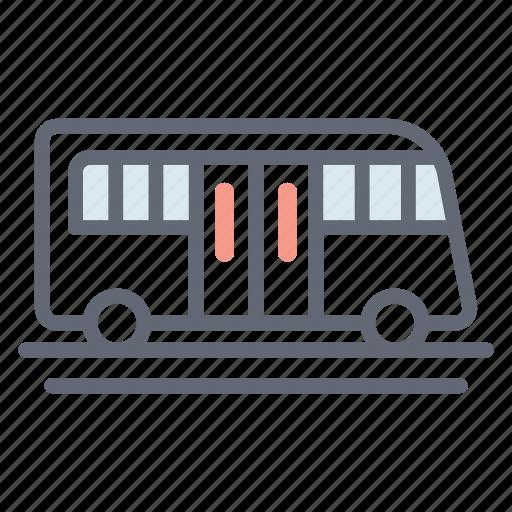 autobus, bus, charabanc, coach, local transport, public transport, vehicle icon
