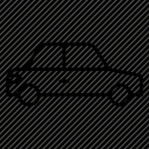 cab, local transport, passenger car, public transport, taxi icon