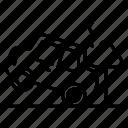 auto accident, car accident, car collapse, car crash, car damage icon