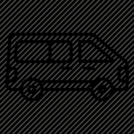 camper van, camping wagon, caravan, vanity van, volkswagen icon