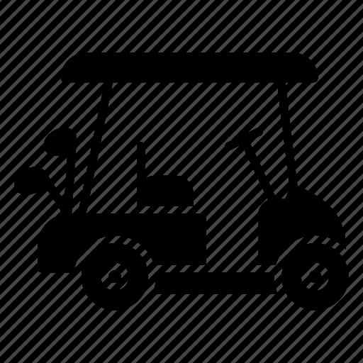 dune buggy, electric golf, golf buggy, golf car, golf cart icon