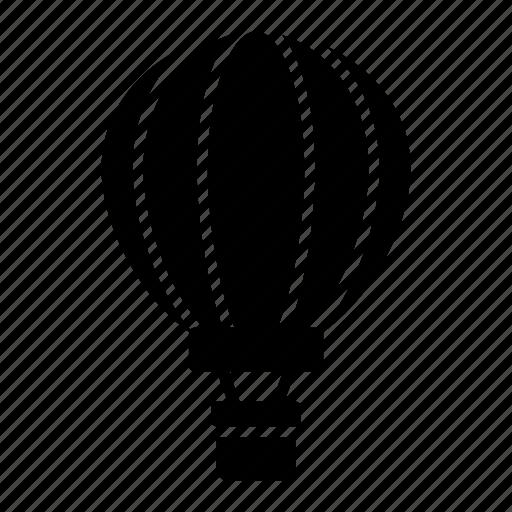 adventure, aircraft, fire balloon, hot air balloon, parachute icon