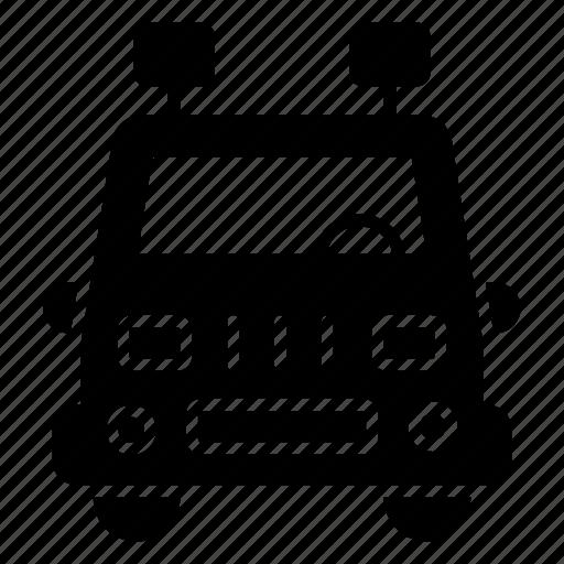 automobile, car, jeep, quadro, suv, transportation icon