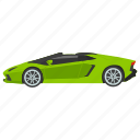 car, sport vehicle, sports car, sports coupe, transport icon
