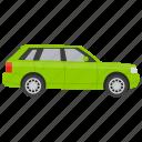 car, small car, family hatchback, hatchback, vehicle