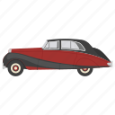 car, classic car, classic coupe, old car, vintage car icon