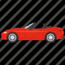 cabrio, cabrio auto, cabriolet, cabriolet car, convertible car icon
