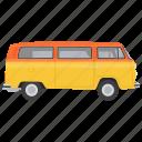 automobile, bus, bus transportation, local vehicle, public transport icon