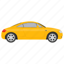 car, compact hatchback, family car, hatchback car, vehicle icon