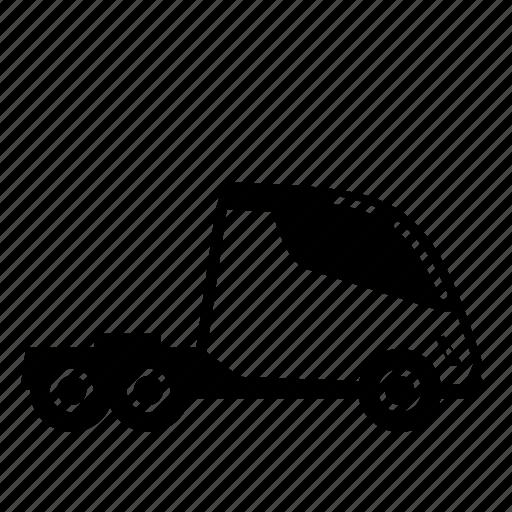 electric, green, road, semi, tesla, transport, truck icon