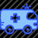 ambulance, car, emergency, rescue, transport