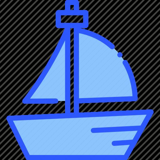 boat, ocean, sea, vacation, yacht icon