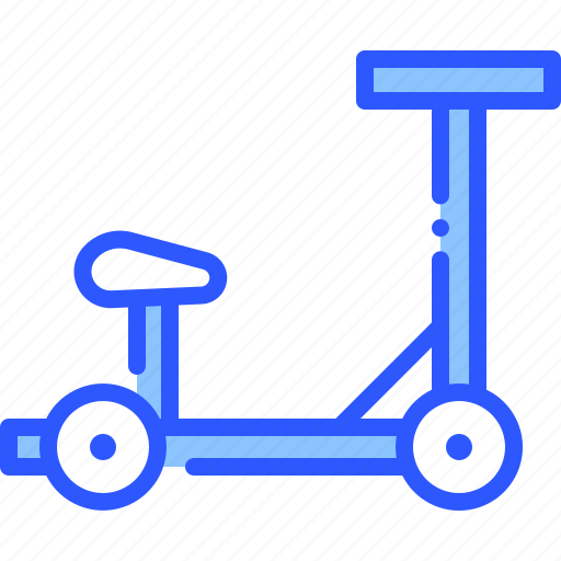 electric, scooter, seat, transport, vehicle icon