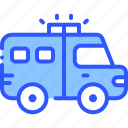 car, police, swat, van, vehicle icon