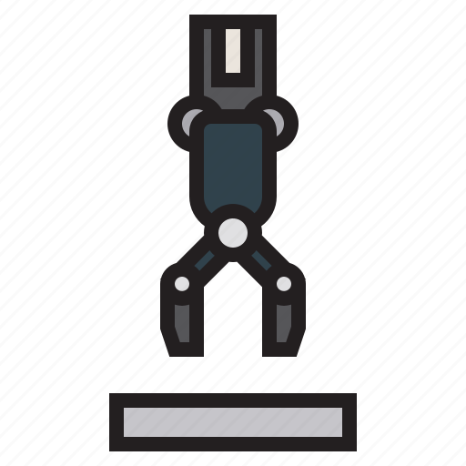 arm, factory, industry, machine, robot, transport icon