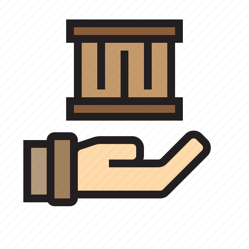 factory, hand, industry, machine, robot, transport icon