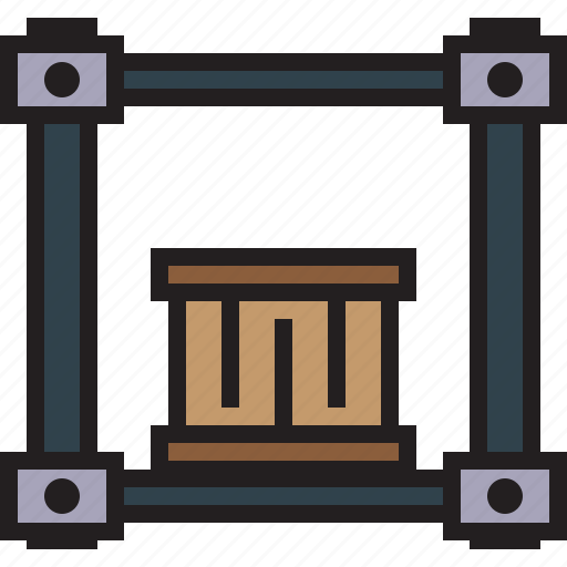 Factory, industry, lift, machine, robot, transport icon - Download on Iconfinder