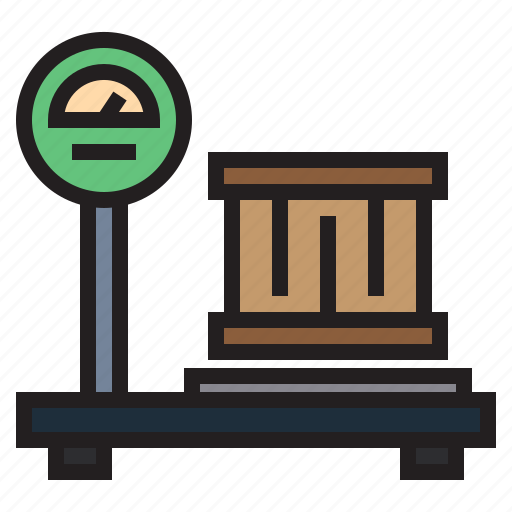 factory, industry, machine, robot, scale, transport icon